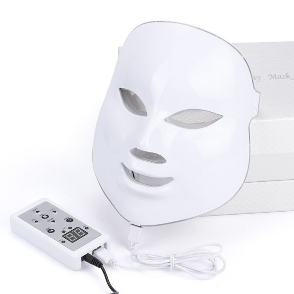 Led Facial Mask 7 Colors Light Therapy