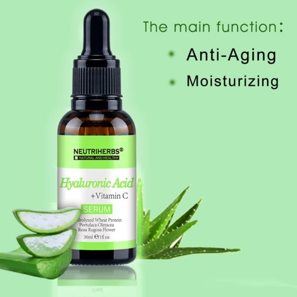 Neutriherbs Hyaluronic Acid Serum with Vitamin C